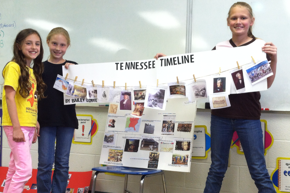 FCS Fourth Grade Students Create Tennessee History Book Press ...